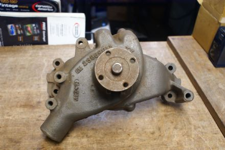 C3 Corvette,Big Block Chevrolet Water Pump,GM 23969811,Used